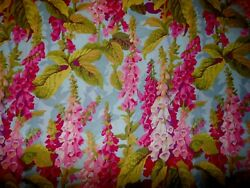 K18 Extremely Rare Impossible to Find OOP PJ10 Fox Gloves Fabric FQ $12.95
