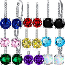 Mini Drop Ball Earrings Leverback Stud Jewelry Women#x27;s 1 Pair OPTIONS $7.99