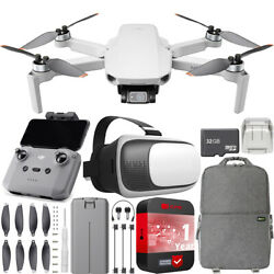 DJI Mini 2 Drone 4K Video Quadcopter Backpack amp; FPV Headset Accessories Bundle $479.00