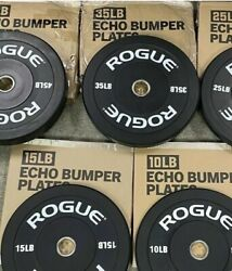 NEW Rogue Fitness Echo V2 Bumper Plates: Select a Pair⚡️Fast Shipping⚡️ $140.00