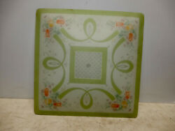 VINTAGE MID CENTURY LARGE SQUARE CEILING LIGHT SHADE $49.99