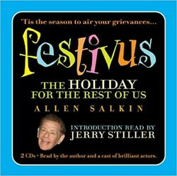 Festivus : The Holiday for the Rest of Us by Allen Salkin 2006 CD Unabridged $7.99