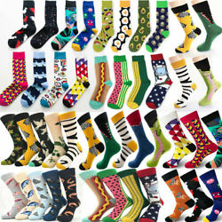 138 Styles Men Women Harajuku Cartoon Doodle Creative Sock Novelty Funny Socks $2.99
