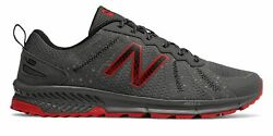 New Balance Men#x27;s 590v4 Trail Shoes Grey with Red $32.49
