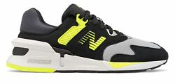 New Balance Men#x27;s 997 Sport Shoes Black with Green $55.79