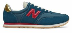 New Balance Men#x27;s COMP 100 Shoes Blue with Red $34.88