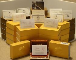 Complete set of First Spouse uncirculated gold coins $49950.00