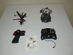 2011 JADA TOYS BATTLE MACHINES LASER COMBAT AIR vs LAND HELICOPTER RC WORKS $14.99