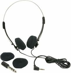 NEW Mini Stereo Lightweight Headphones On ear with 4 ft. Cord @ FREE FAST SHIP $6.49