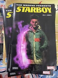 The Weeknd Starboy Star Boy Limited Edition Marvel Comic Black $116.40