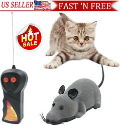 Remote Control Rat Mouse Wireless mice Toy For Cat Dog Pet Toy Novelty Gift $7.99