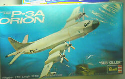 Revell kit H 163 Lockheed P 3a Orion 1973 release sealed 1:115? NIB $22.00