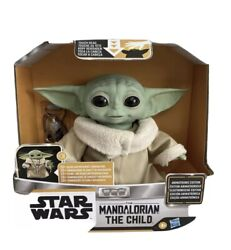 Star Wars Mandalorian The Child Baby Yoda Animatronic Toy Disney Hasbro IN HAND $108.99