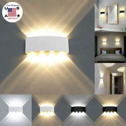 2 8W LED Wall Lights Up Down Modern Sconce Lamp Waterproof IP65 Outdoor Indoor $35.52