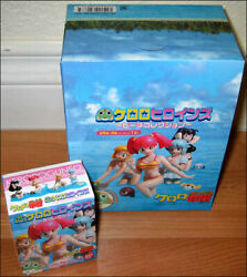 Keroro Frog Gunso Heroines Beach Sexy Bikini Collection 8 Figure Box Set BANDAI $23.95
