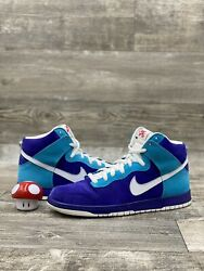 NIKE DUNK SB HIGH SIZE 11.5 OCEANIC AIRLINES GERMAIN BLUE WHITE RED 305050 400 $199.99