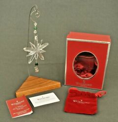 Waterford Crystal 2007 Partridge Charm Ornament 12 Days of Xmas #1 in Series $30.00