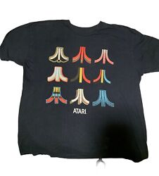 Vintage Atari T Shirt Size Large Men's Novelty T Shirt $8.00
