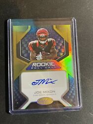 2017 certified rookie roll call gold joe mixon auto 25 bengals $25.00