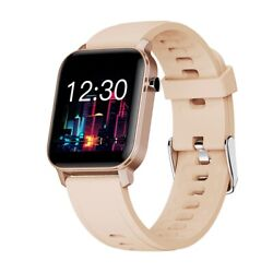 Watch Smart Band Waterproof for Android iOS Phone Mate Bluetooth Women Men GOLD $18.00