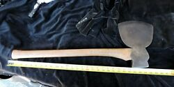 Broad Hatchet Axe 1800's Antique with Makers mark $125.00