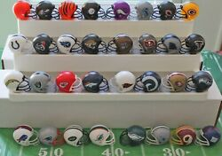 Complete Set of NFL Mini Gumball Helmets All 32 Teams Free Shipping amp; In Stock $14.99