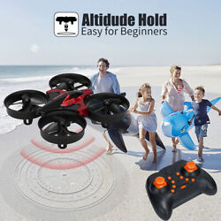 MINI RC Drones Quadcopter 2.4GHz Nano Helicopters Toys Indoor 3D Flip Headless $20.99