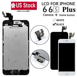 For iPhone 6S 6 Plus LCD Touch Screen Full Replacement With Camera amp; Home Button $17.79