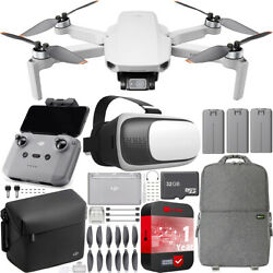 DJI Mini 2 Drone 4K Quadcopter Fly More Combo Backpack amp; FPV Headset Bundle $629.00