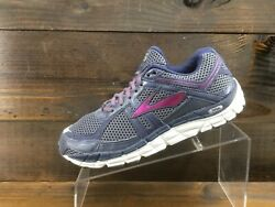 Brooks Addiction A12 Womens Dark Blue Running Casual Shoes Ladies Size 8.5 $39.50