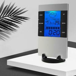 Digital Humidity LCD Clock Thermometer Temperature Indoor Meter New E7T7 $9.15