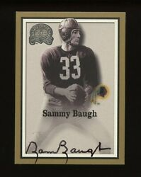 2000 Fleer Greats of the Game: Sammy Baugh Auto $107.78