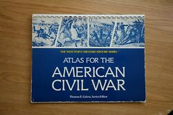 Atlas for the American Civil War by Thomas E. Griess 1986Paperback $12.00