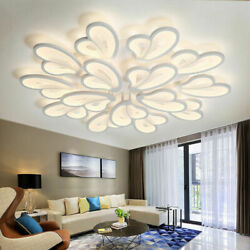 Ceiling Lights LED Acrylic Chandeliers Butterfly Modern Living Room Bedroom Lamp $35.50