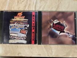 HOT #x27;N HEAVY amp; LOUD AND PROUD 2 CD LOT Ozzy Mountain Blue Oyster Cult amp; more $12.99