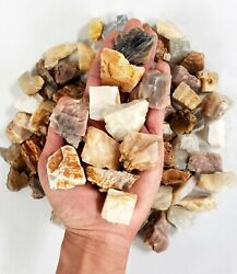 Raw Moonstone Crystal 1quot; to 2quot; Medium Chunks Healing Crystals from India $11.95