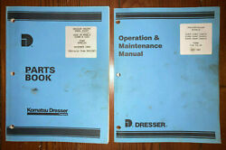 Dresser D359T Engine Parts Book Operation Manual 2 manuals used in 515C Load $25.00