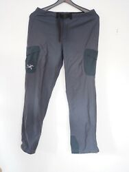 Arc#x27;teryx Women#x27;s Damen Stretching Softshell Cross Ski Pants Sz L $68.00