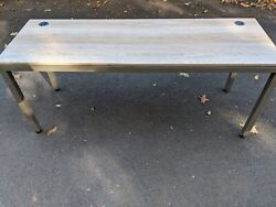 Modern Home Office Desk At Work Table Work Station 72quot;W x 24quot;D $350.00