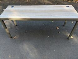 Modern Home Office Desk At Work Table Work Station 60quot; W x 24quot; D $300.00