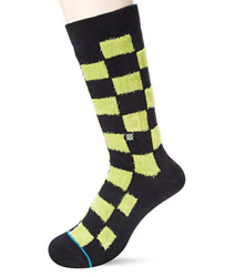 Stance Men Blokz Socks Size Large US 9 12 Green $3.20