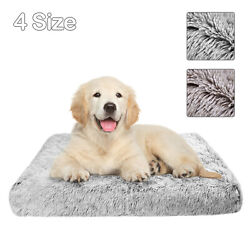 Large Pet Dog Bed Mattress Plush Warm Cushion Mat w Removable Washable Cover $14.98