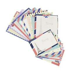 Stationary Paper and Envelopes Set 48 PCS Stationary Set for Women Cute Stat... $10.48