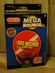 Duncan Mega Bounce Big Fun XL Ball with Foot Pump RED 100quot; Around $26.99