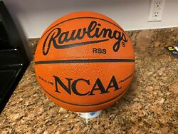 Official Rawlings NCAA Game Ball Leather Spalding Basketball TEAM ISSUED Read $99.95