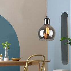 Industrial Pendant Lighting Kitchen Island Hanging Lamps Clear Glass Chandelier $66.00