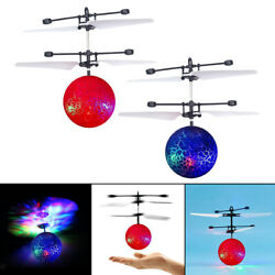 Flying Ball Mini LED Induction Helicopter Ball Perfect Gift RC for Girls $10.40