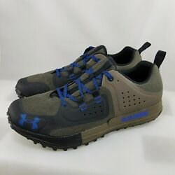 Under Armour UA Syncline Edge Men#x27;s#x27; Size 10.5 Baroque Green 3022757 200 $109.99
