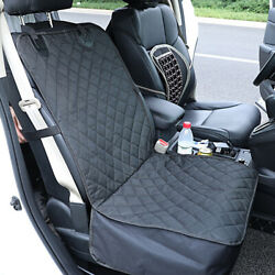 New Waterproof Dog Car Seat Covers for Cat Pet SUV Front Rear Bench Black $22.39