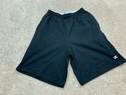 Champion Shorts Men#x27;s Size Medium Black $14.44